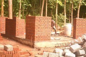 Maha Maya Center Bau